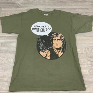 Star Wars retro comics vintage shirt